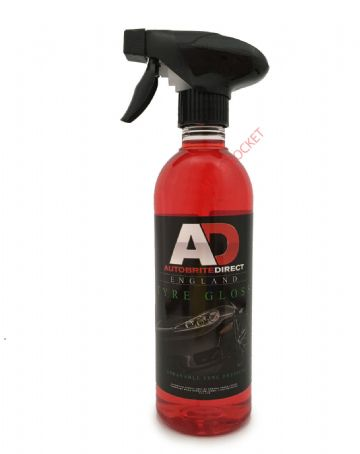 Autobrite Direct - Tyre Gloss, Rich Silicone Tyre Shine Dressing - 500ml spray